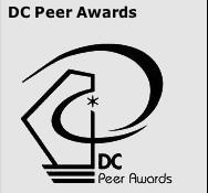 Logo for the DC Peer Awards