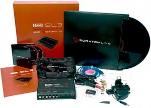 Photo of the Serato SL3 package contense