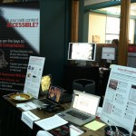 Word Wizards Table at the 2012 IDEAS Conference