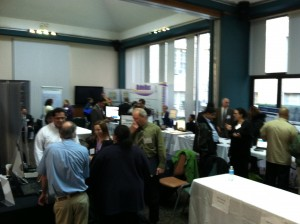 IDEAS conference floor as vendors 508 coordinators and interested individuals check out the available displays.