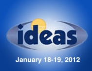 Logo for the 2012 IDEAS conference