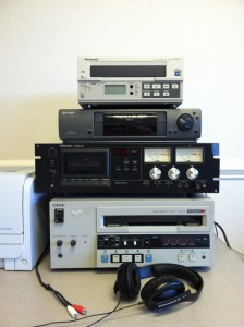 Betacam, VHS, and Video Cassette Decks