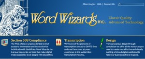 Word Wizards Inc Home Page