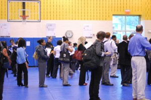 The main floor of the WIFV Job Fair