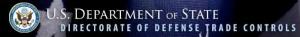 U.S. State Department - DDTC Logo