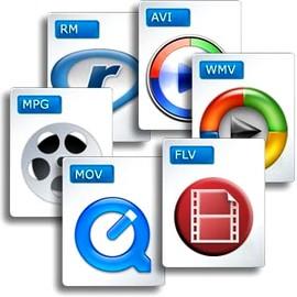 Common Movie Codecs MOV FLV WMV AVI MPG