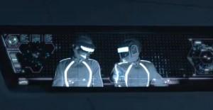 Daft Punk in Tron Legacy