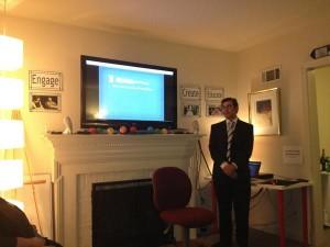 Ben Presenting CloudScript at Docs In Progress