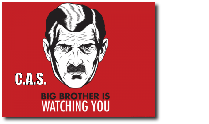 The Copyright Alert System is watching you - Big Brother Meme