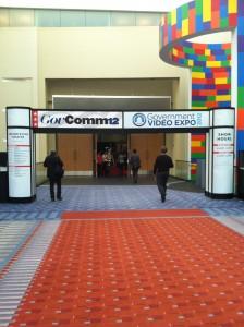 Entrance to the 2012 GV Expo