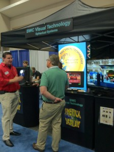 BWC Visual Technology demonstratic their new spherical displays!