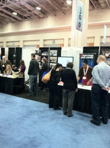 TIVA-DC in full swing at this year's GV expo.