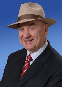 Arch Campbell in his signature hat.