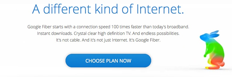 Google FIber - A New Way For a Faster World