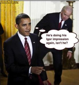 Obama meets Igor