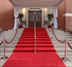 The Red Carpet is gunna' roll!