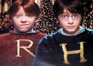 Harry Potter and Ron Weasley - Corny Holiday Sweater