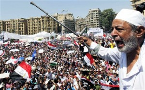 Protests in Cairo Egypt