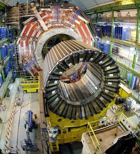 An Expriment detector at The Large Hadron Collider.