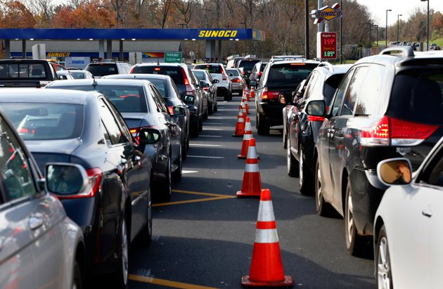 Gas line - Garden state parkway gas stations ...