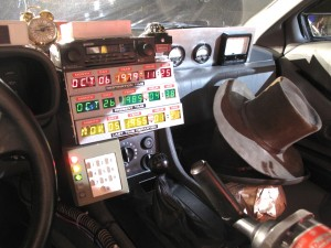Inside The Delorean From Back To The Future III