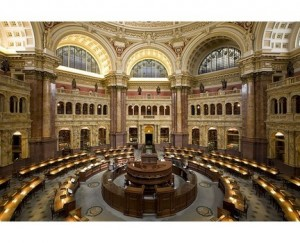 The Reading Room of The Library of Congress