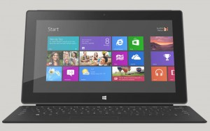 Surface hybrid tablet / laptoop with windows 8.