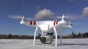 The DGI Phantom Quadcopter