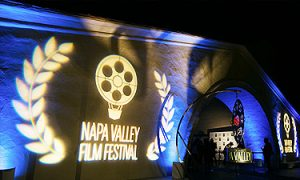 Napa Valley Film Festival Logo Projection