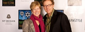 Photograph of festival founders Marc & Brenda Lhormer