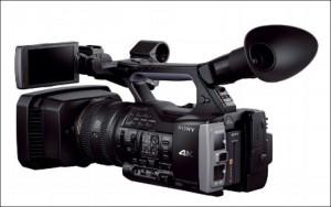 4K Camera shooting in high resolution.