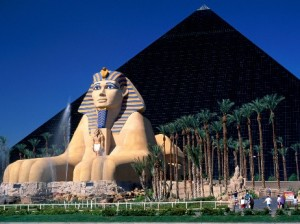 Luxor hotel, Los Vegas.