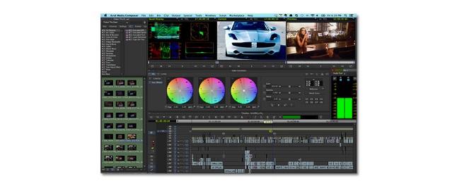 Avid editing platform.