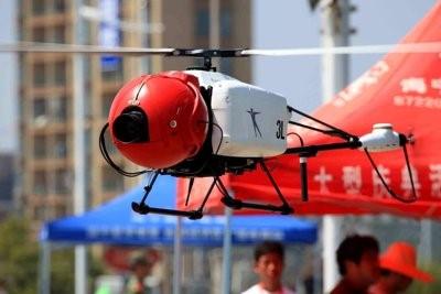 photo of drone in flight