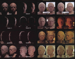 Benjamin Button's head.